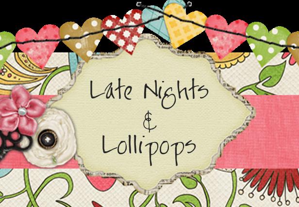 Late Nights & Lollipops - logo