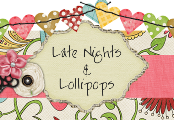Late Nights & Lollipops - logo