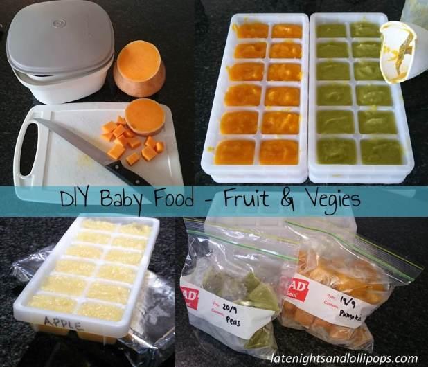 DIY Baby Food - Fruit & Veg